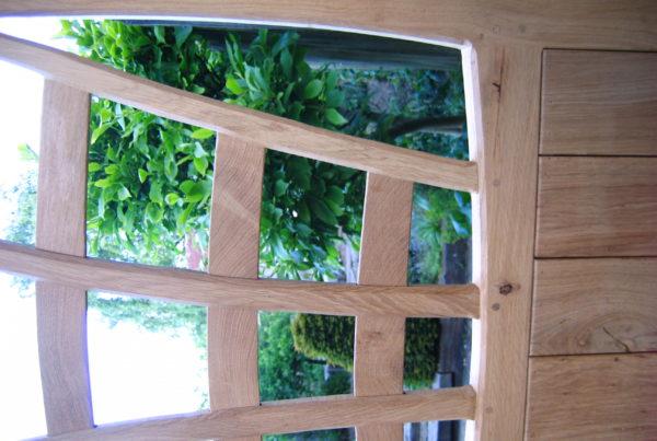 Garden Gate in Oak
